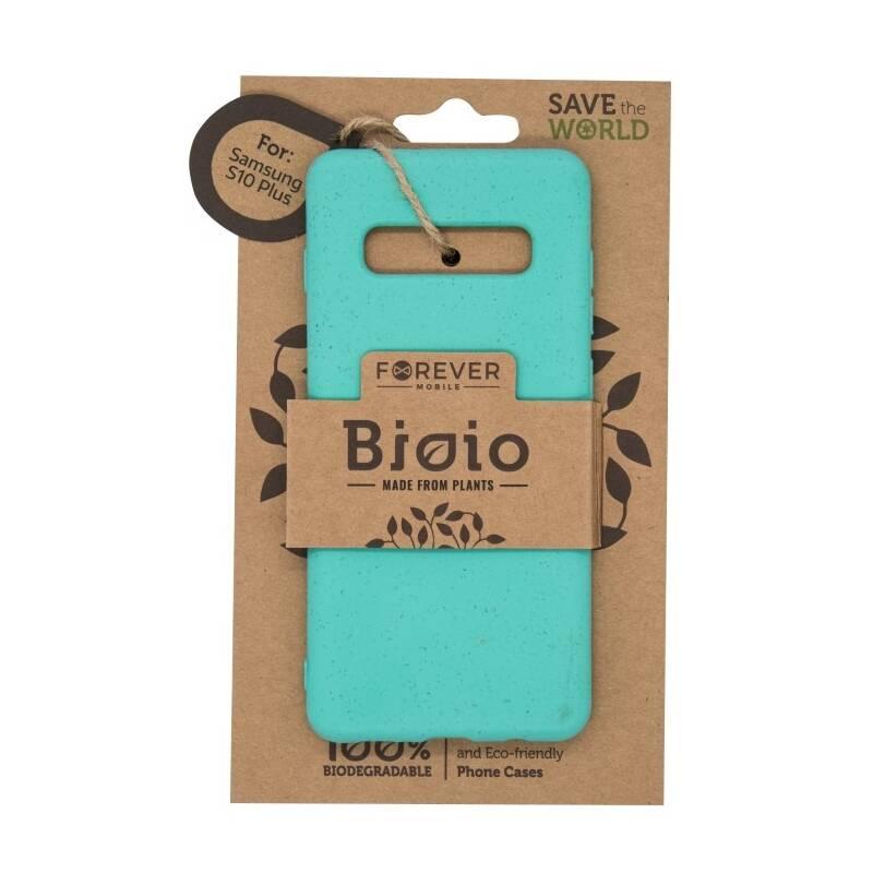 Kryt na mobil Forever Bioio na Samsung Galaxy S10+ - mátový (HOUSAS10PLBIOMI)