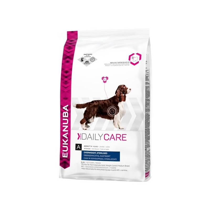 Granule Eukanuba Daily Care Excess Weight 12,5 kg