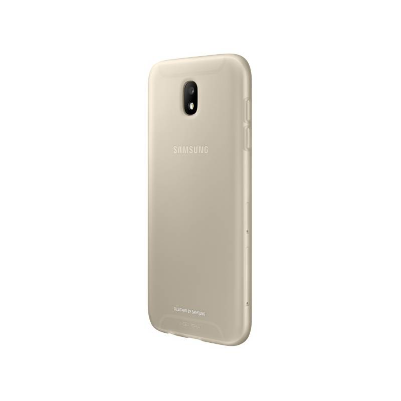Kryt na mobil Samsung Jelly Cover pro J5 (2017) (EF-AJ530TFEGWW) zlatý