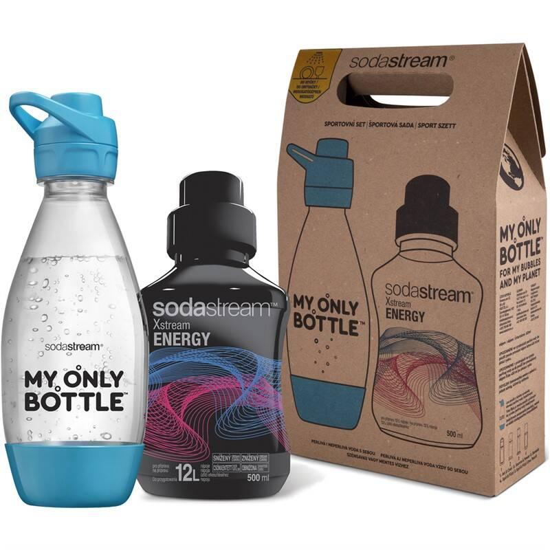 Fľaša SodaStream sportovní set lahev 0,6 l + Energy SODA