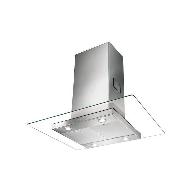 Odsávač pár Faber GLASSY ISOLA SP EV8 X/V A90 nerez/sklo + Doprava zadarmo