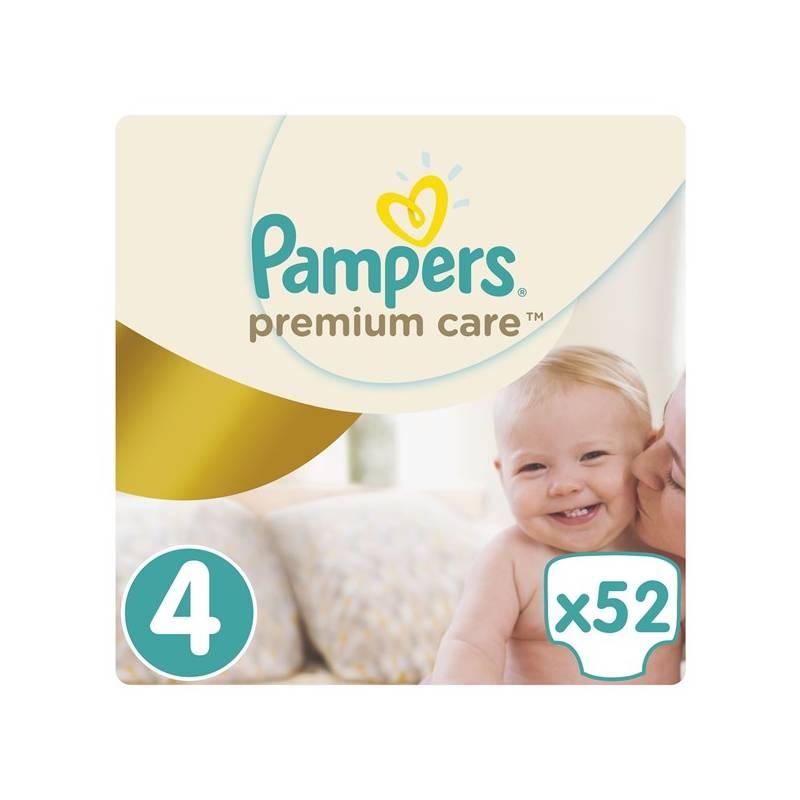 Plienky Pampers Premium Care Premium Care Maxi vel. 4, 52 ks
