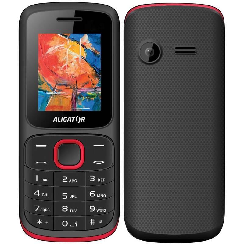 Mobilný telefón Aligator D210 Dual SIM (AD210BR) červený
