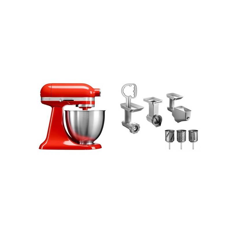 Set KitchenAid - kuchyňský robot 5KSM3311XEHT + FPPC balíček s příslušenstvím + Doprava zadarmo
