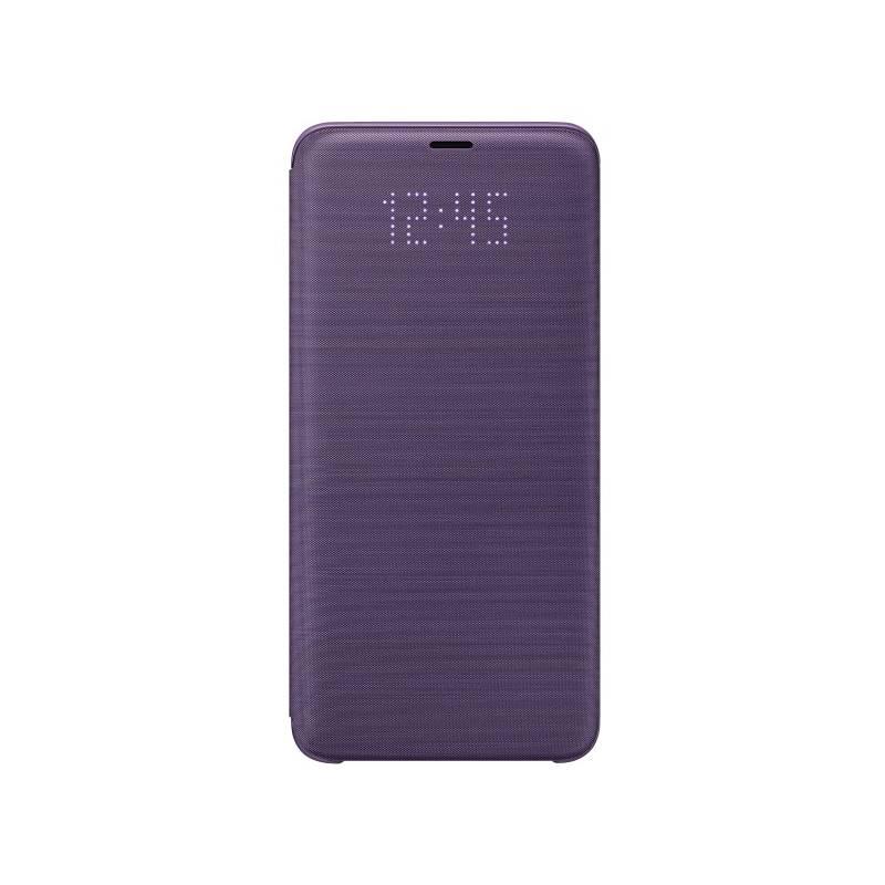 Pouzdro na mobil flipové Samsung LED View pro Galaxy S9+ (EF-NG965PVEGWW) fialové