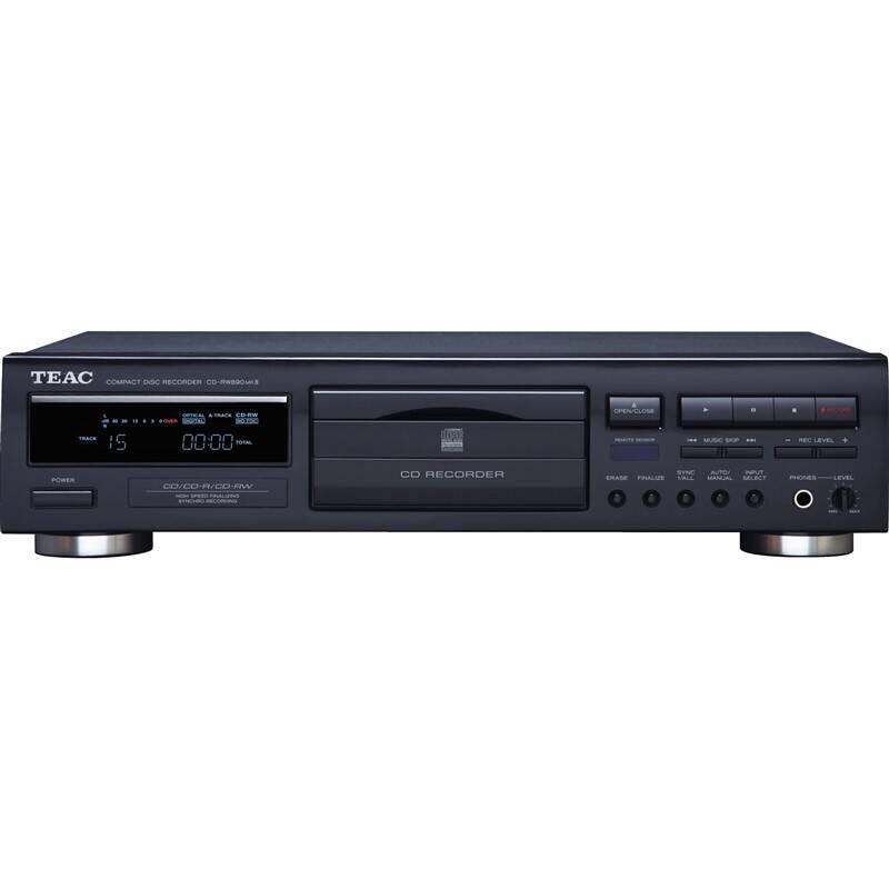 CD prehrávač Teac CD-RW890MK2 čierny + Doprava zadarmo