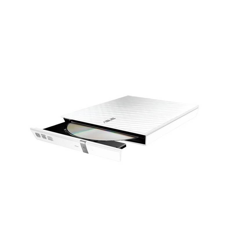 Externí DVD vypalovačka Asus SDRW-08D2S Lite (90-DQ0436-UA161KZ) bílá