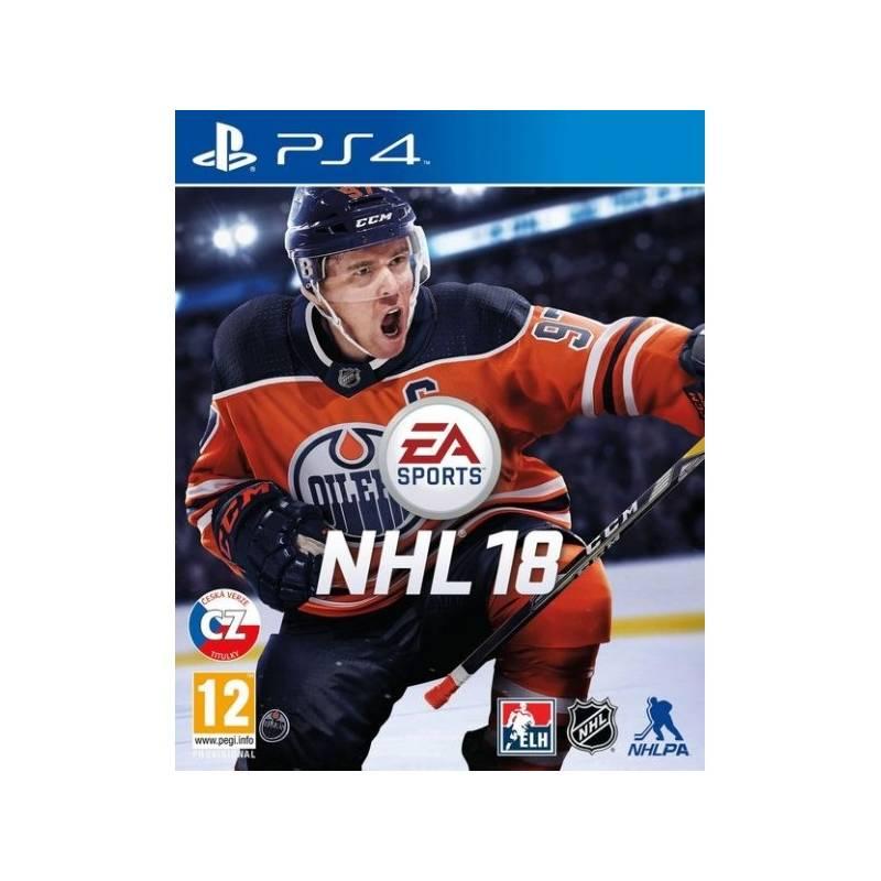 Hra EA PlayStation 4 NHL 18 (EAP454531)