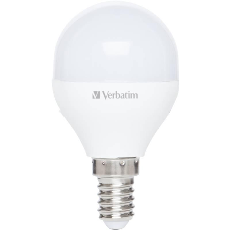 LED žiarovka Verbatim E14, 3,1 W, teplá bílá 2700K