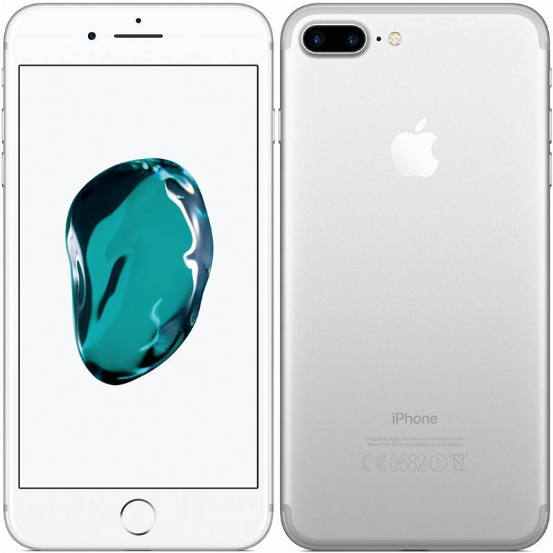 Mobilný telefón Apple iPhone 7 Plus 128 GB - Silver (MN4P2CN/A)