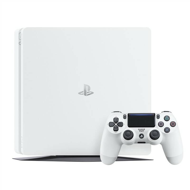 Herná konzola Sony PlayStation 4 500GB (PS719755517) biela