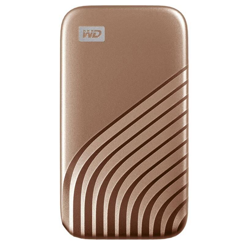 SSD externý Western Digital My Passport SSD 2TB (WDBAGF0020BGD-WESN) zlatý + Doprava zadarmo