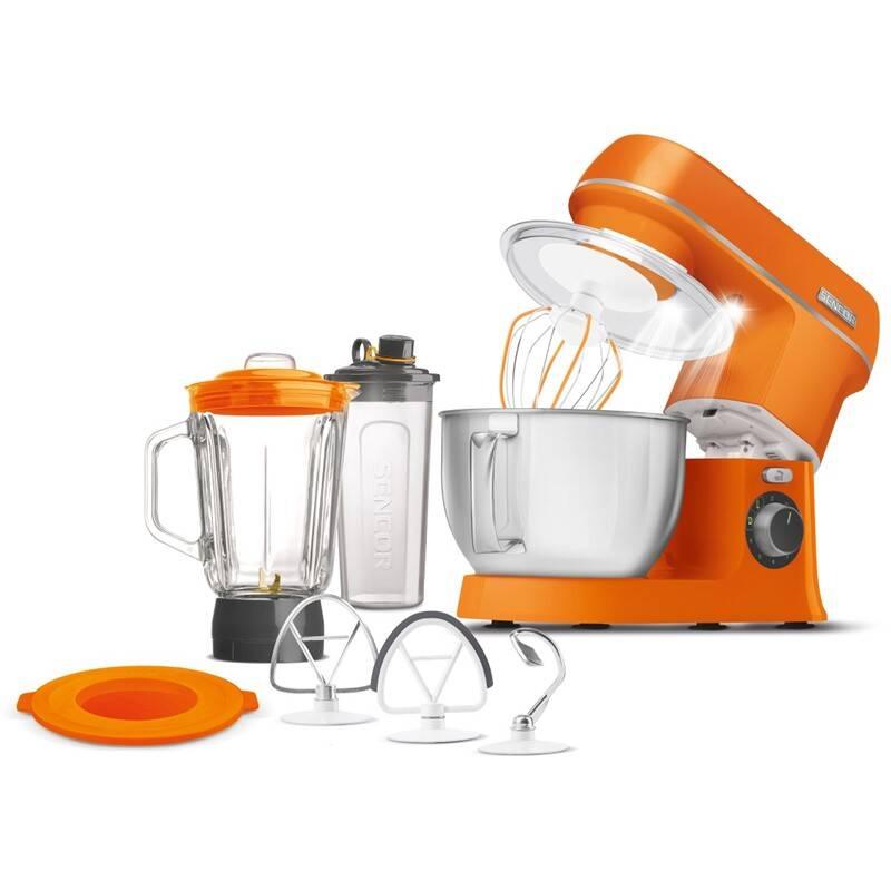 Kuchyňský robot Sencor STM 3753OR oranžový