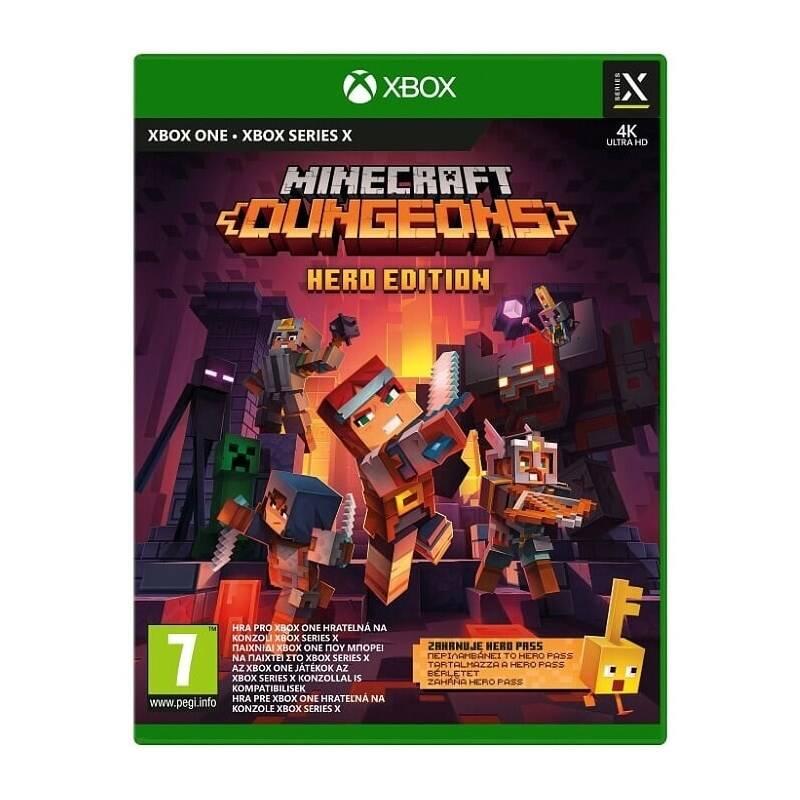 Hra Microsoft Xbox One Minecraft Dungeons: Hero Edition (QYN-00021)