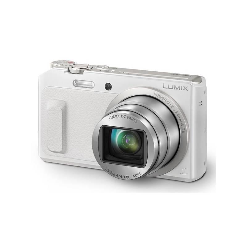 Digitálny fotoaparát Panasonic DMC-TZ57EP-W biely + Doprava zadarmo