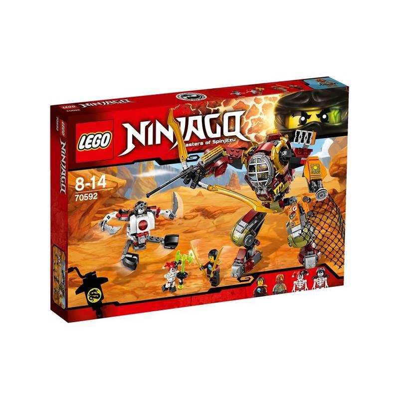 Stavebnica LEGO® NINJAGO™ 70592 Robot Salvage M.E.C. + Doprava zadarmo