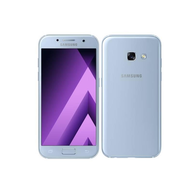 Mobilný telefón Samsung Galaxy A3 (2017) (SM-A320FZBNETL) modrý