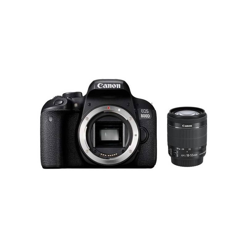Digitálny fotoaparát Canon EOS 800D + 18-55 IS STM (1895C002AA) čierny + Doprava zadarmo