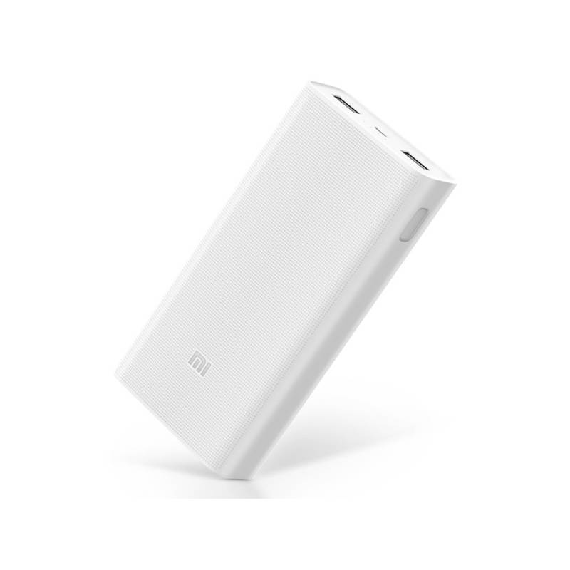 Powerbank Xiaomi Mi 2C 20000mAh - Fast charging (PLM06ZM) bílá