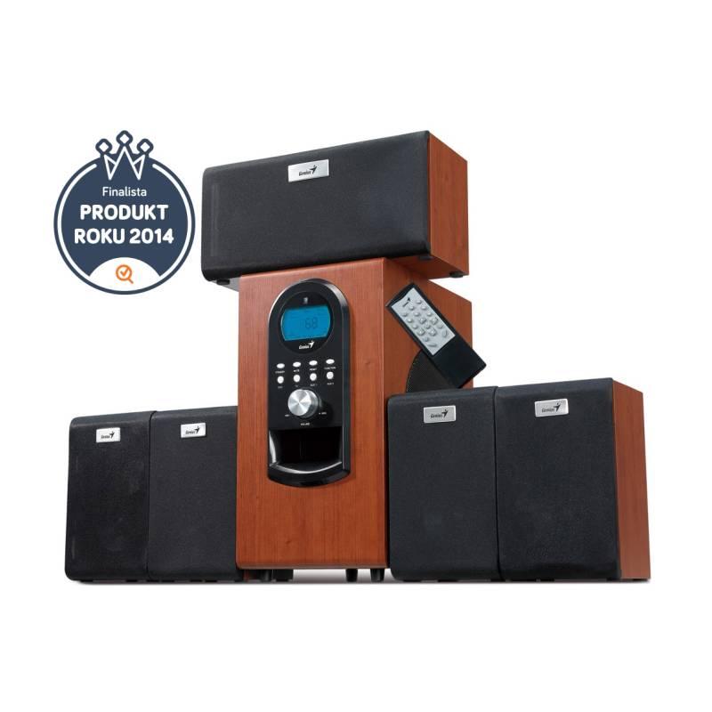 Reproduktory Genius SW-HF 6000 5.1 (31730022101) imitácia dreva + Doprava zadarmo