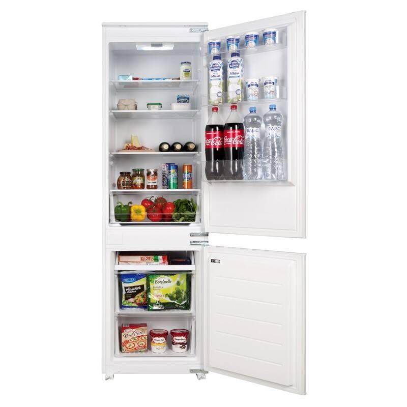 Kombinácia chladničky s mrazničkou Concept LKV4460 biele + Doprava zadarmo