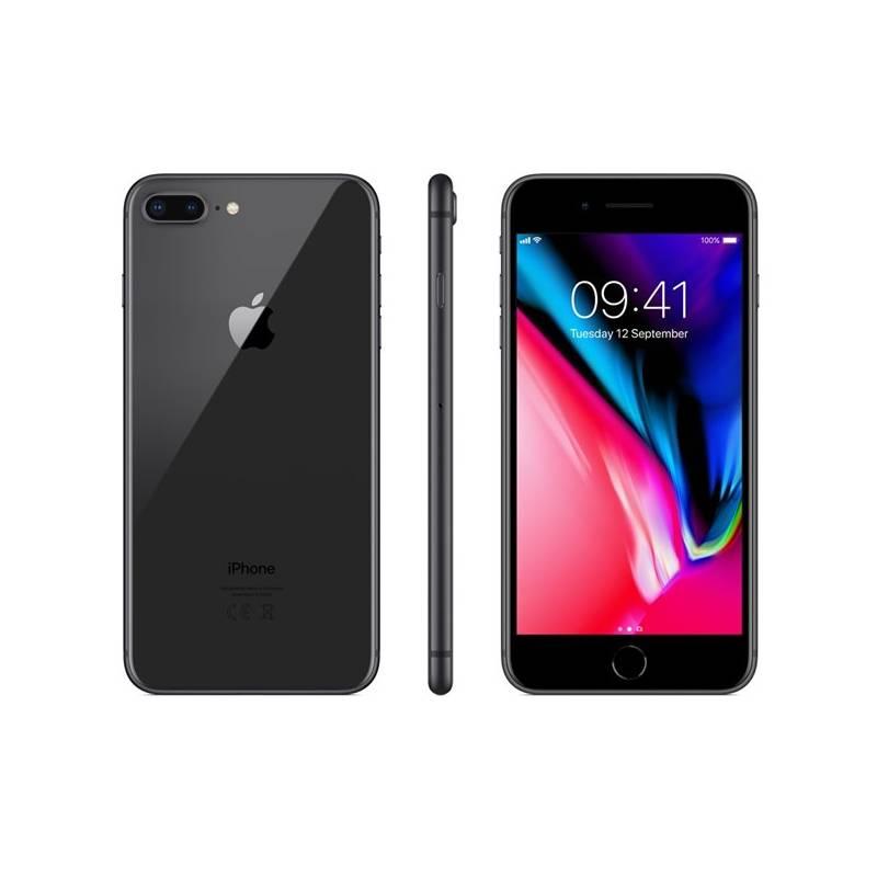 Mobilný telefón Apple iPhone 8 Plus 64 GB - Space Gray (MQ8L2CN/A) + Doprava zadarmo