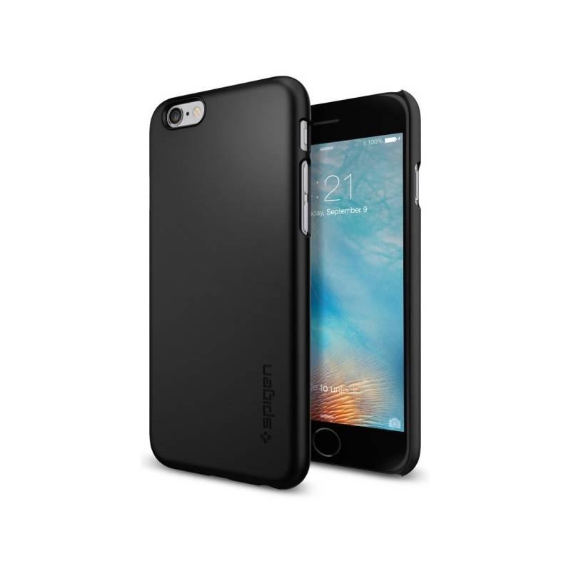 Kryt na mobil Spigen Thin Fit Apple iPhone 6/6s (HOUAPIP6SPBK) čierny