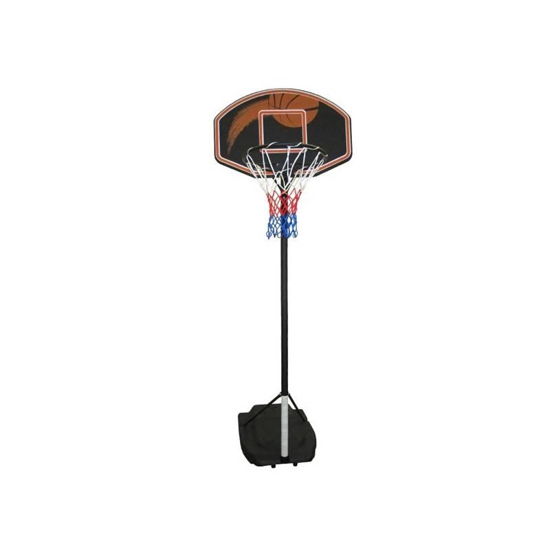 Basketbalový kôš Master Impact 80 x 54 cm čierny/hnedý