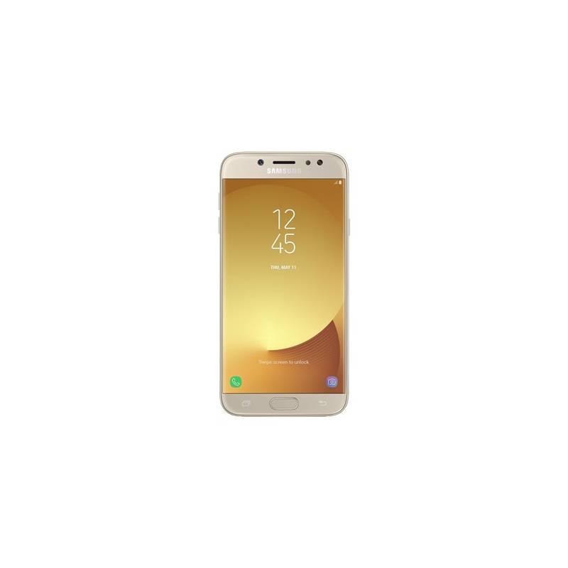 Mobilný telefón Samsung Galaxy J7 2017 (J730F) (SM-J730FZDDETL) zlatý Software F-Secure SAFE, 3 zařízení / 6 měsíců (zdarma) + Doprava zadarmo