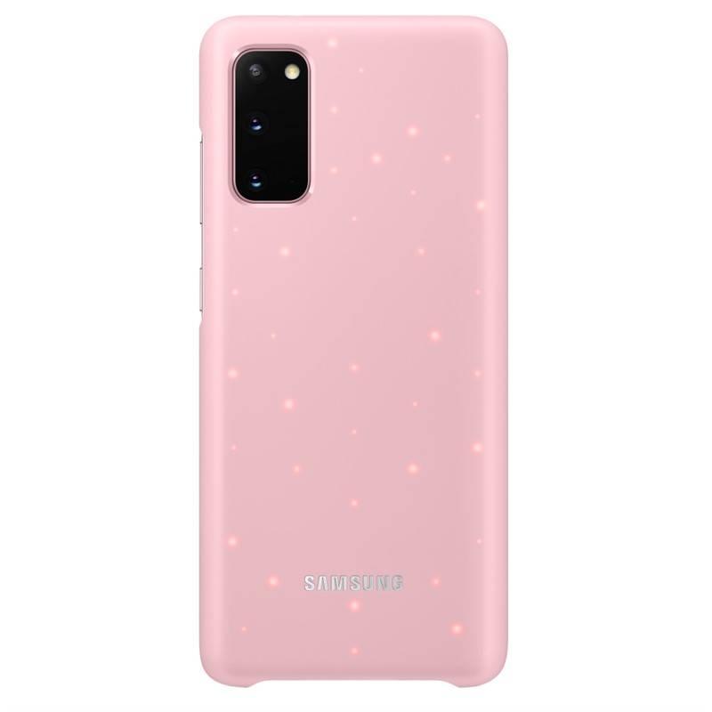 Kryt na mobil Samsung LED Cover na Galaxy S20 (EF-KG980CPEGEU) ružový + Doprava zadarmo