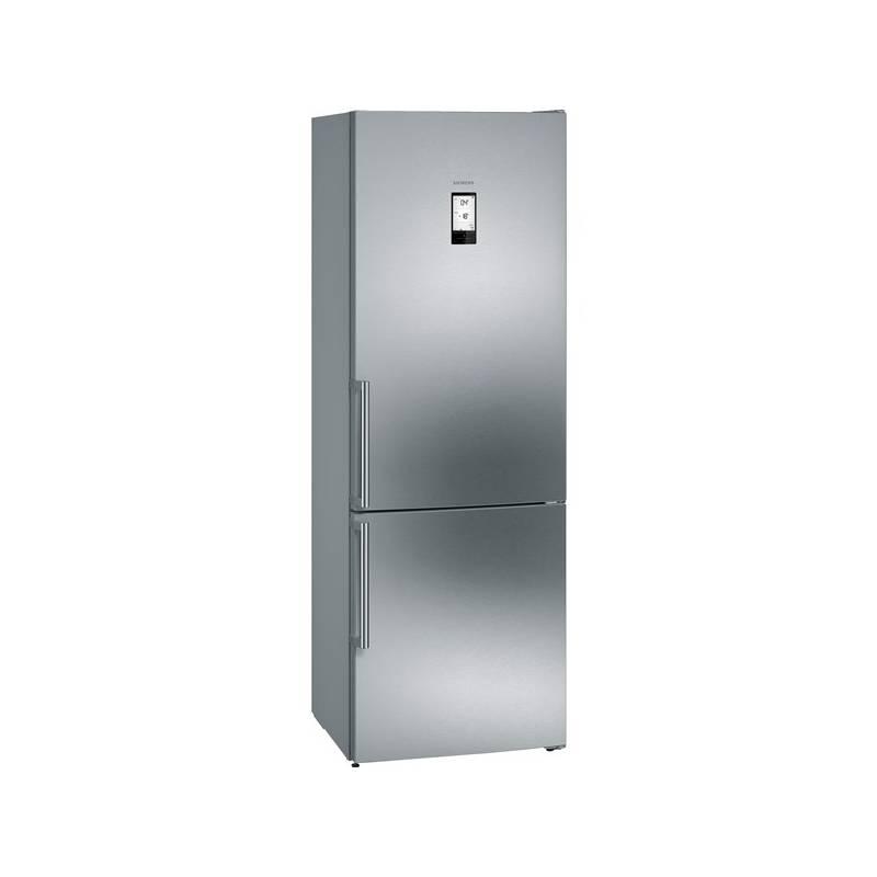 Kombinácia chladničky s mrazničkou Siemens KG49NAI40 nerez + Doprava zadarmo