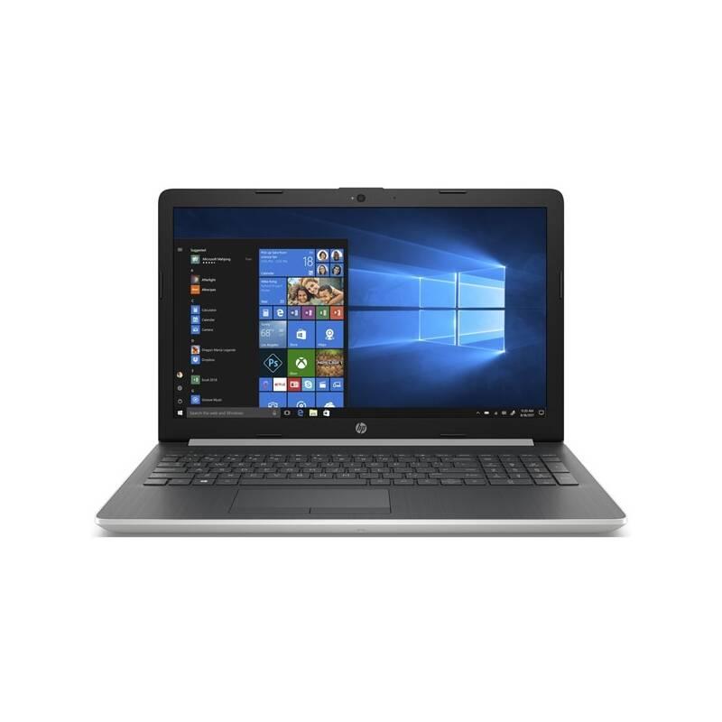Notebook HP 15-db0004nc (4BZ49EA#BCM) strieborný + Doprava zadarmo
