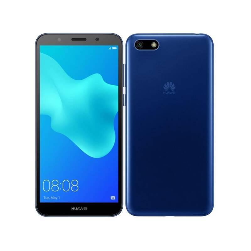Mobilný telefón Huawei Y5 2018 Dual SIM (SP-Y518DSLOM) modrý Software F-Secure SAFE, 3 zařízení / 6 měsíců (zdarma) + Doprava zadarmo