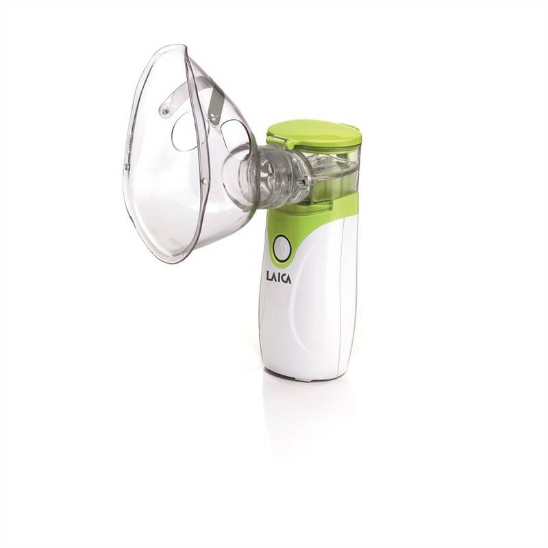 Inhalátor ultrazvukový Laica NE1005 bílá barva/zelená barva