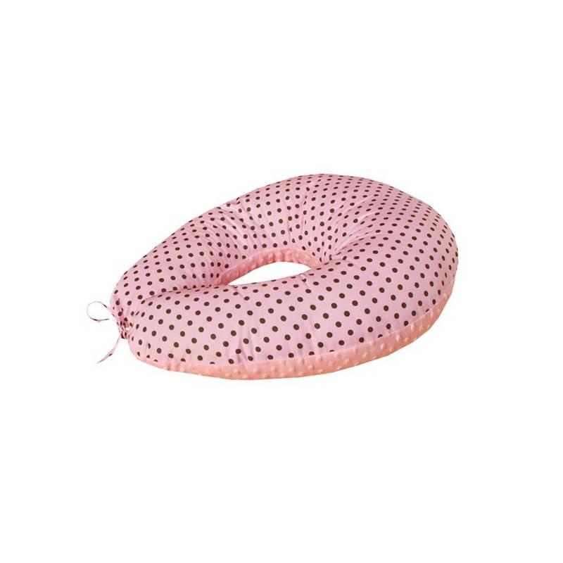 Vankúš na kojenie Cosing Sleeplease Minky ružový