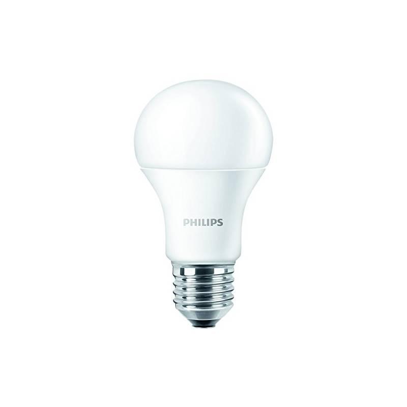 LED žiarovka Philips klasik, 8W, E27, teplá bílá (377648)