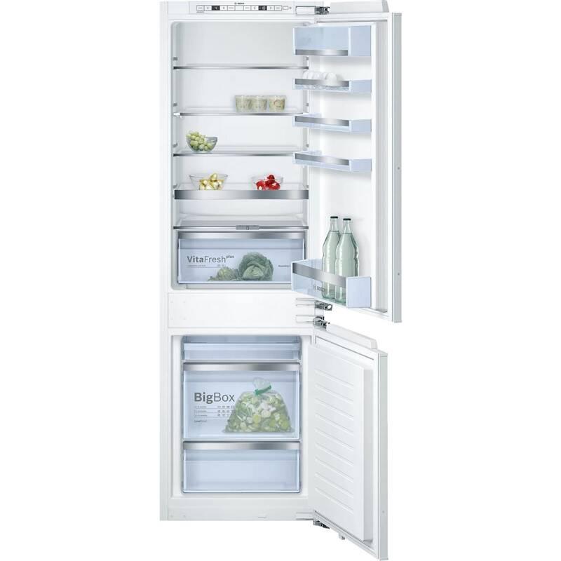 Kombinácia chladničky s mrazničkou Bosch KIS86AF30 biele + Doprava zadarmo