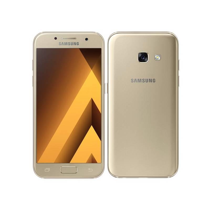 Mobilný telefón Samsung Galaxy A3 (2017) (SM-A320FZDNETL) zlatý