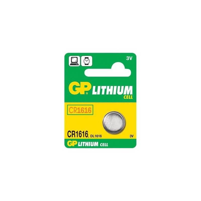 Batéria lítiová GP LITHI, 3V, 42mAh (GP CR1616)