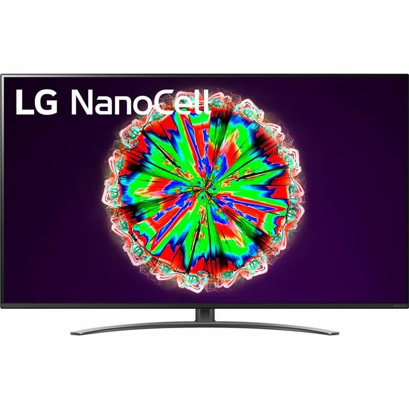 Televízor LG 55NANO81 čierna + Doprava zadarmo