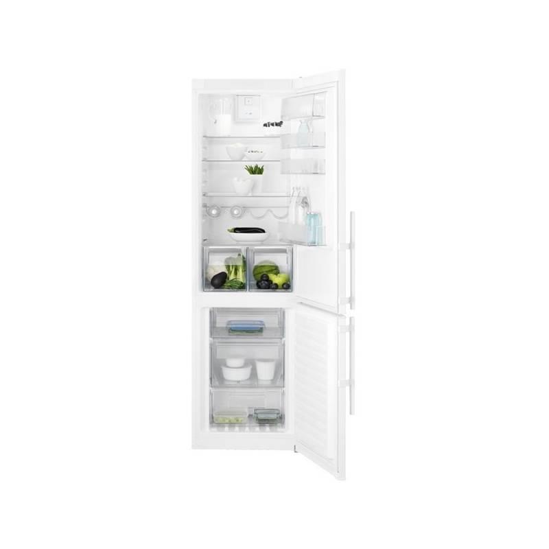 Kombinácia chladničky s mrazničkou Electrolux EN3853MOW biela + Doprava zadarmo