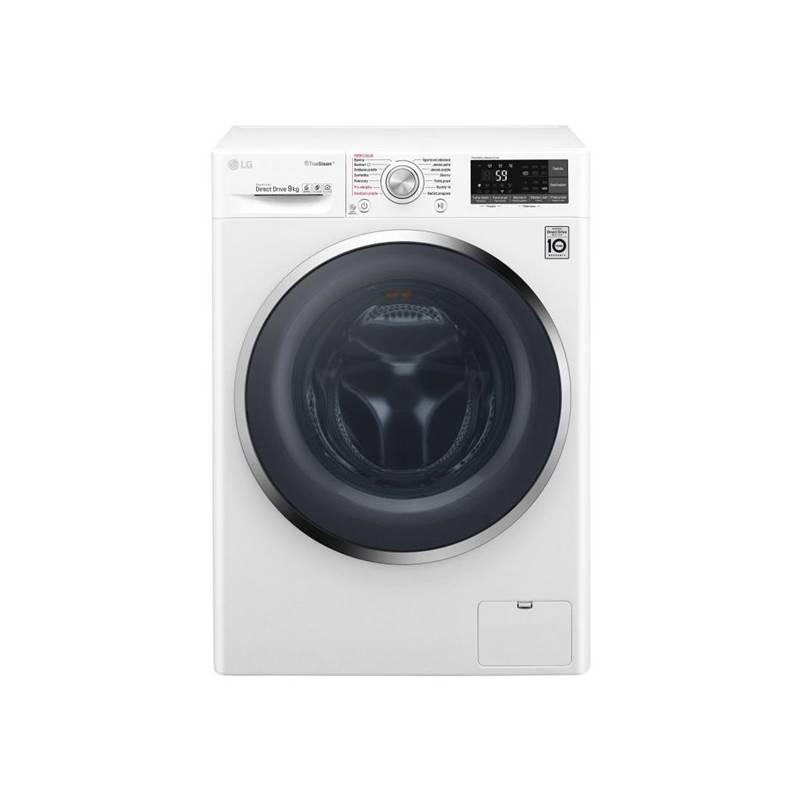 Automatická práčka LG F94J8VS2W biela Čistič oken ETA Aquarelo 0262 90000 (zdarma) + Doprava zadarmo