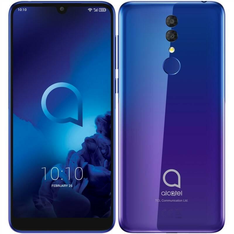 Mobilní telefon ALCATEL 3 (5053K) (5053K-2BALE12) modrý/fialový