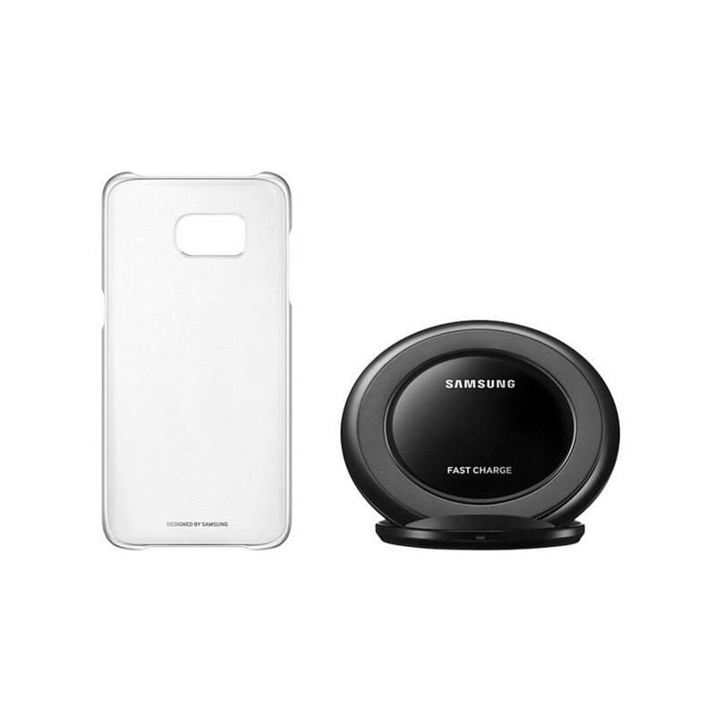 Sada pre bezdrôtové nabíjanie Samsung Hero Starter Kit pro Galaxy S7 (ET-KG930BSEGWW) strieborná
