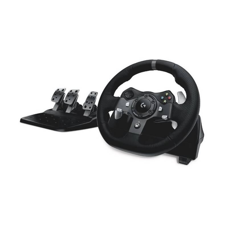 Volant Logitech G920 pro Xbox One, One X, One S, PC + pedály (941-000123) čierny