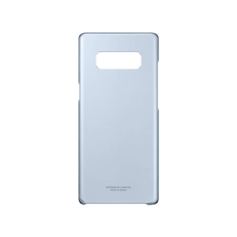 Kryt na mobil Samsung Clear Cover pro Galaxy Note 8 (EF-QN950CNEGWW) modrý