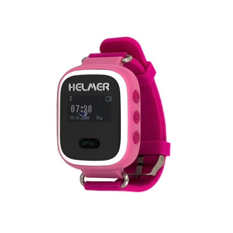 Chytré hodinky Helmer LK 702 dětské (Helmer LK 702 P) ružový