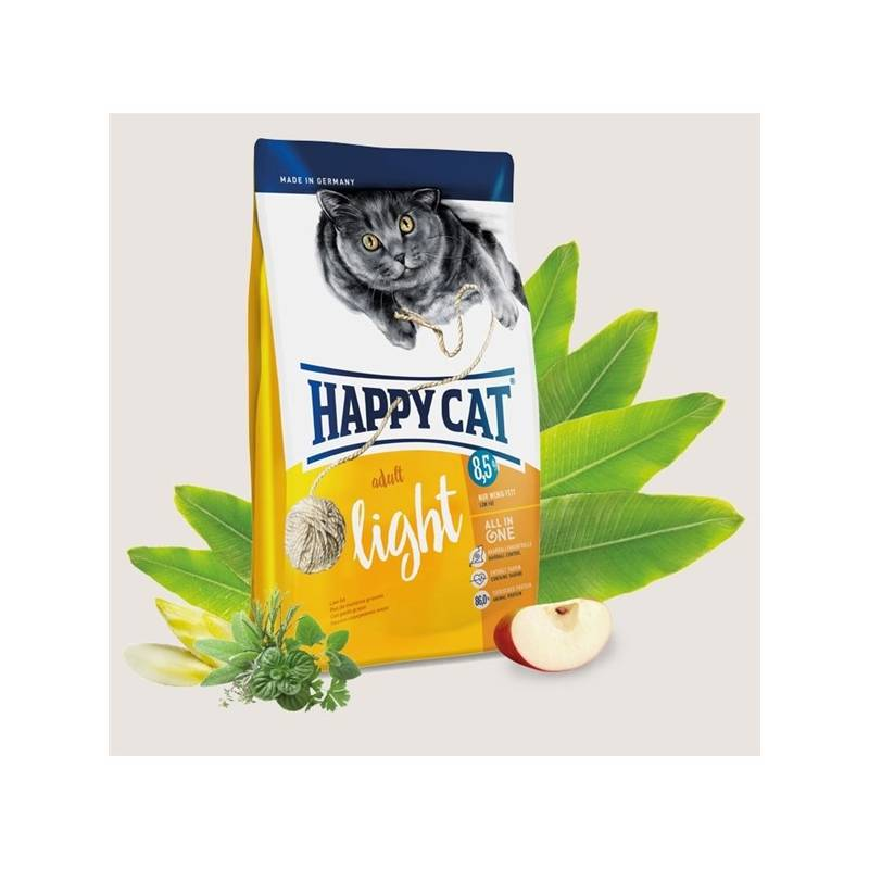 Granule HAPPY CAT ADULT Light - Lehká výživa 10 kg