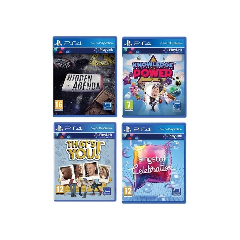 Hra Sony PlayStation 4 Hidden Agenda + Knowledge is Power + SingStar Celebration + Thats You (PS719989066)