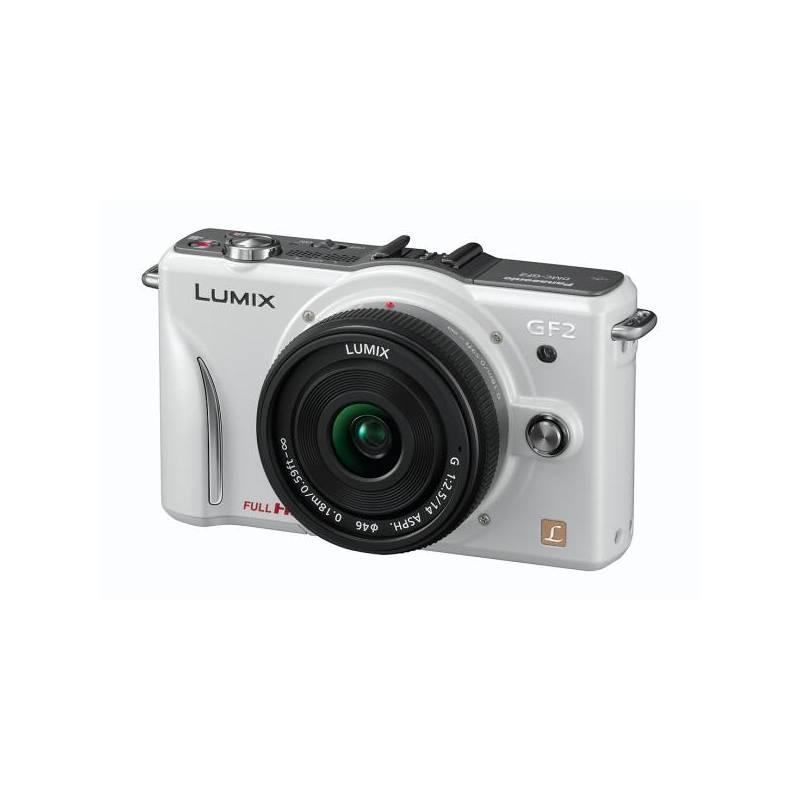 67f3a6951 Digitálny fotoaparát Panasonic Lumix DMC-GF2CEG-W (14mm objektiv) biely